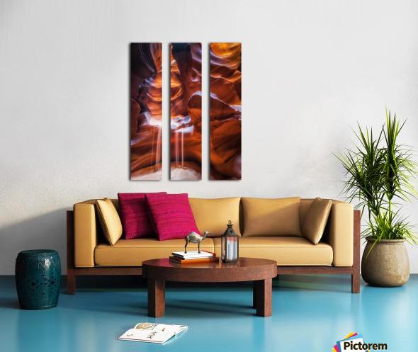 Antelope Canyon 4 Split Canvas print