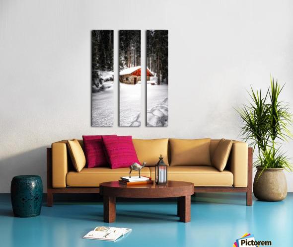 The Alps Split Canvas print