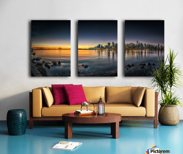 Sunrise Split Canvas print