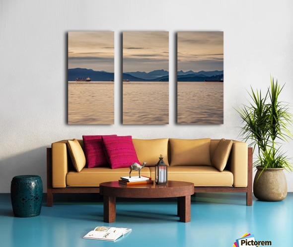 Pacific North West Split Canvas print