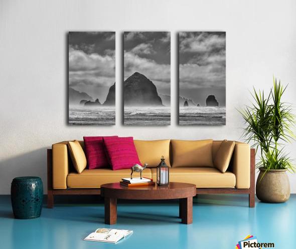 Cannon Beach Split Canvas print