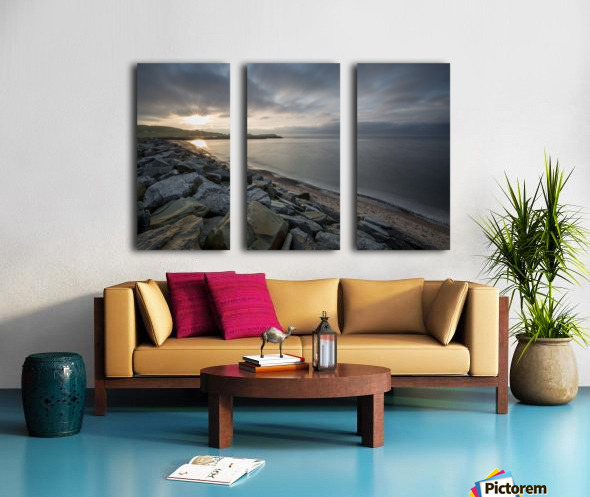 Sun Break Split Canvas print