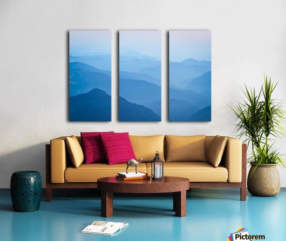 Himalayas Split Canvas print
