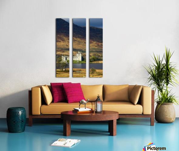 Kilchurn Castle, Scotland Split Canvas print