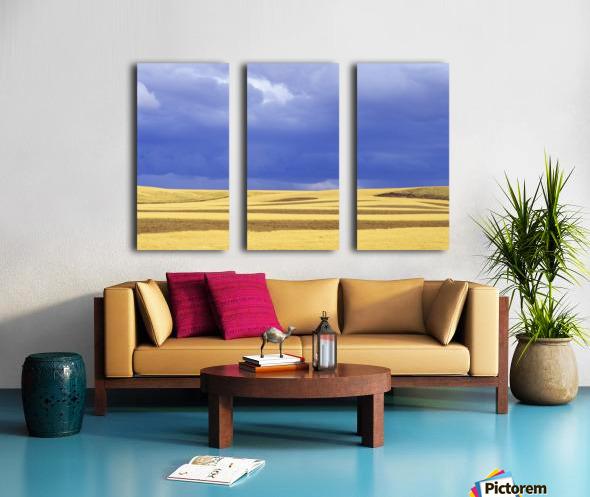 Wheat Fields Near Hermiston, Oregon, Usa Split Canvas print