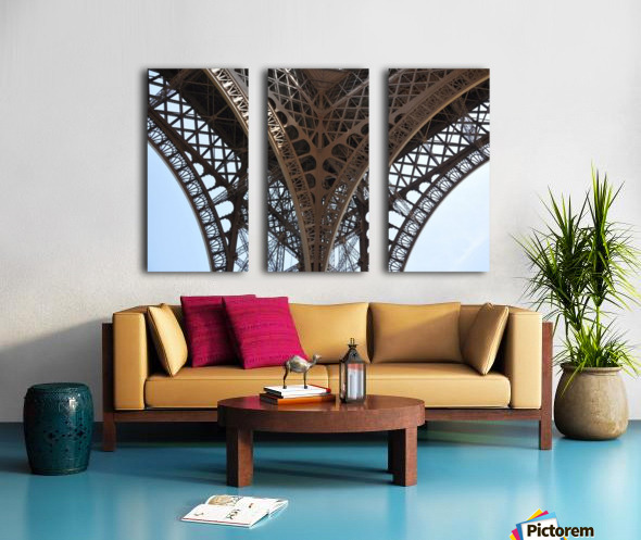 eiffel structure Split Canvas print