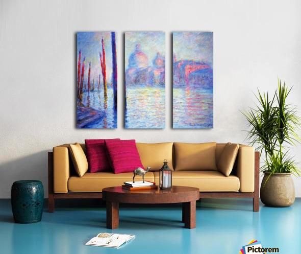 Canal Grand by Monet Split Canvas print