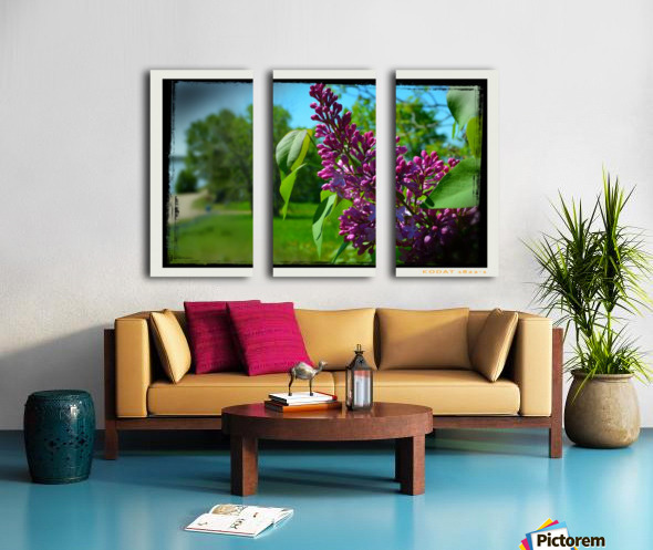 Purple Flowers Toile Multi-Panneaux