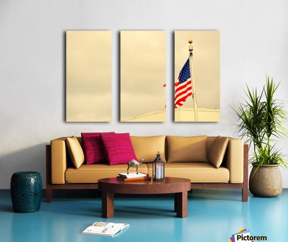 American Flag Toile Multi-Panneaux