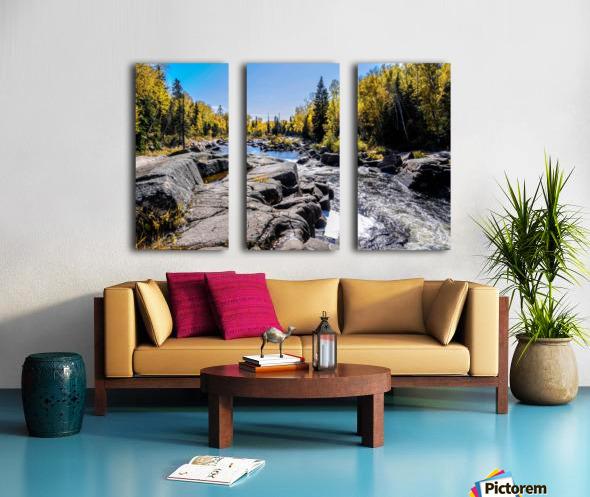 River Bed Split Canvas print