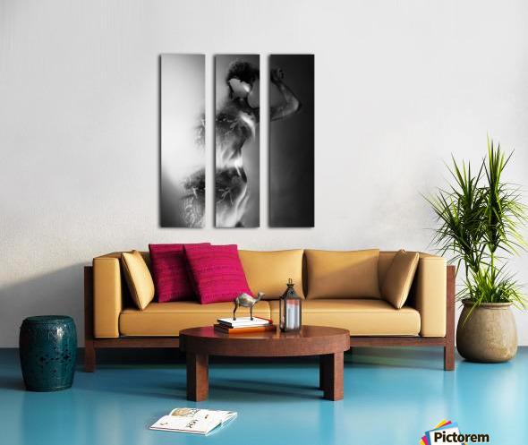 Double Exposure Serie Split Canvas print
