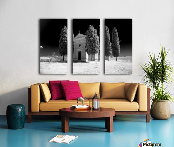 Tuscany Montalcino Split Canvas print