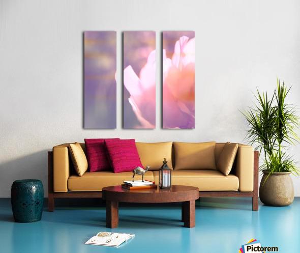 Rödklöver Split Canvas print