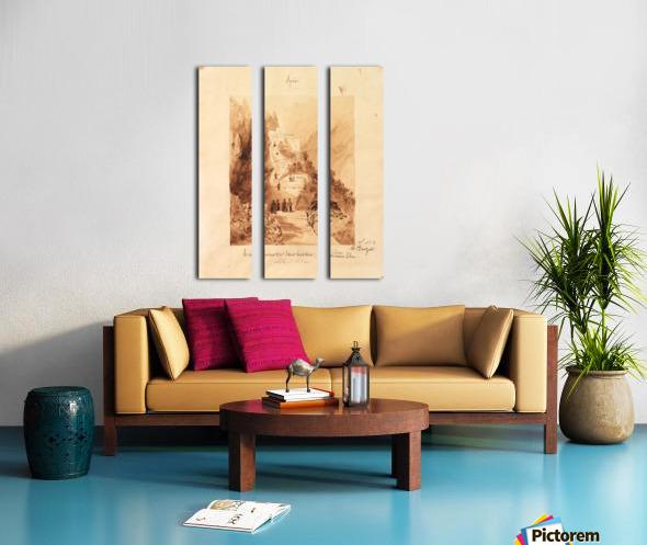 Le covenant Split Canvas print