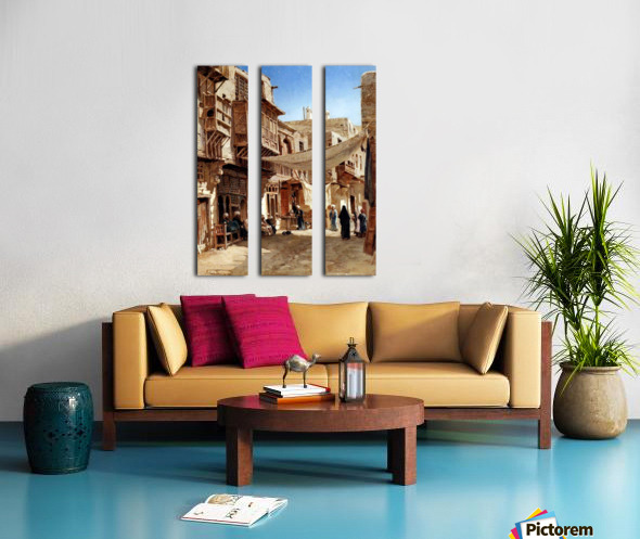 Mosques, Egypt and Damascus Split Canvas print
