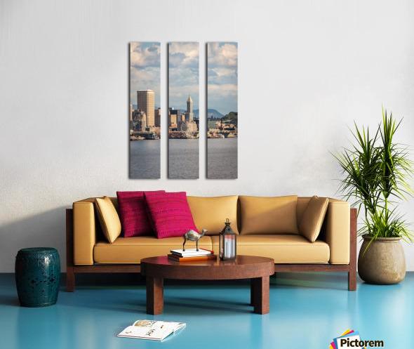 Weel Split Canvas print