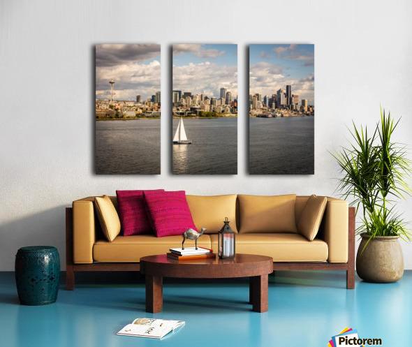 Downtown Split Canvas print
