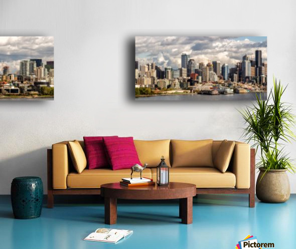 Seattle Split Canvas print