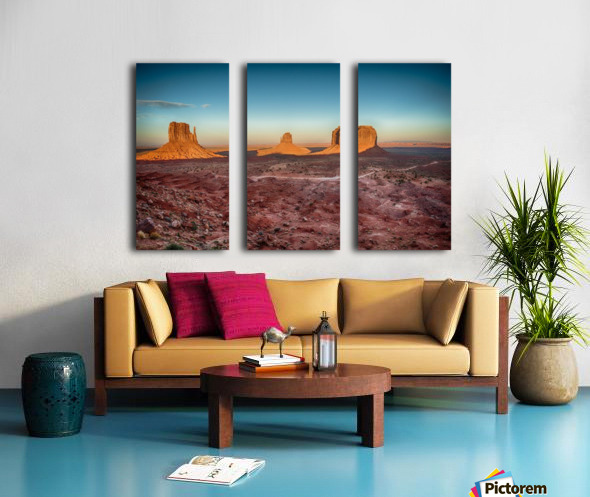 Monument Valley HDR (16 of 21) Split Canvas print