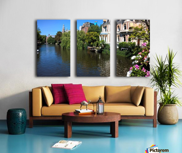 Amsterdam Split Canvas print