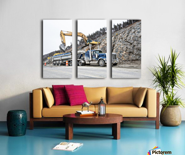 Loading up Split Canvas print