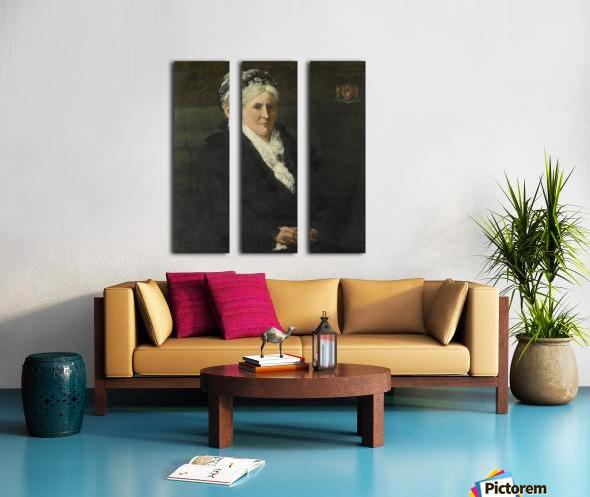 Maria Hermina Heemskerk Split Canvas print