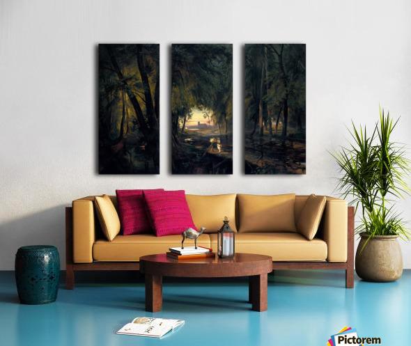 Alchetron Split Canvas print