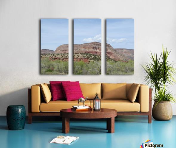 Jemez Mountains VP19 Split Canvas print