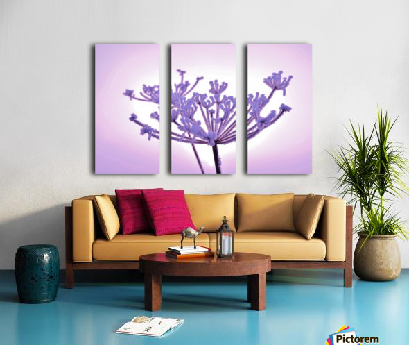 Pink tint Split Canvas print
