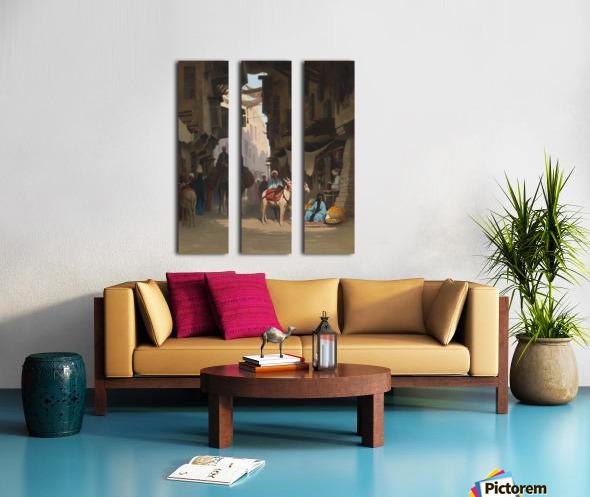 The Souk Split Canvas print