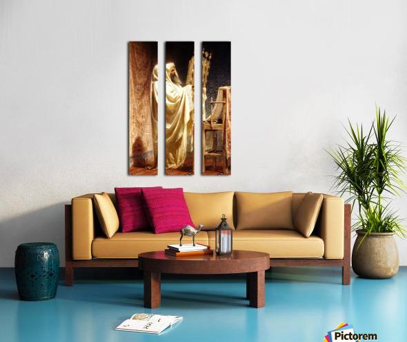 The High Priest of the Samarian Split Canvas print