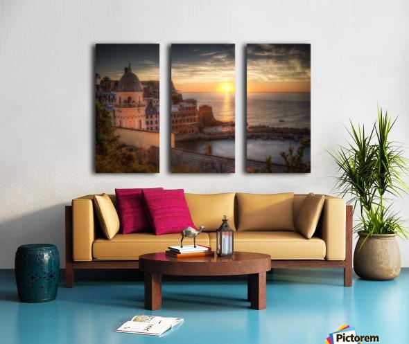 Sunset Split Canvas print