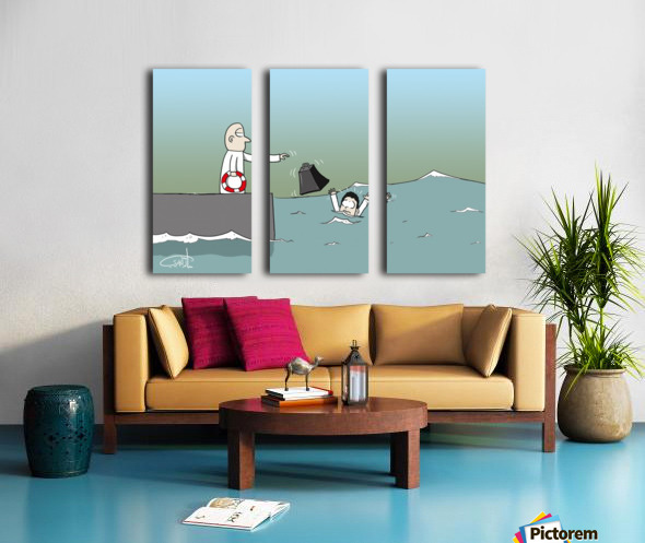 Want Me to Help You Split Canvas print