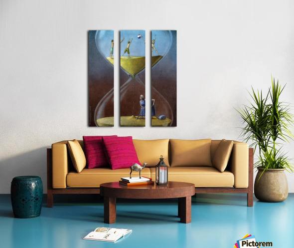 time Split Canvas print
