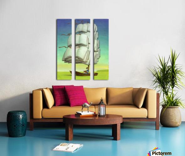 journey Split Canvas print