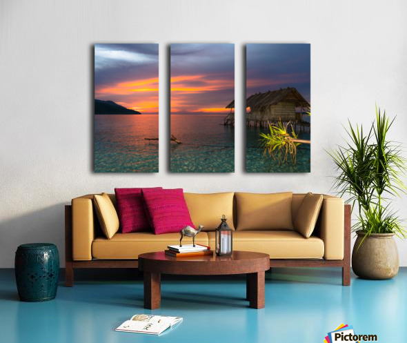 Simple life Split Canvas print