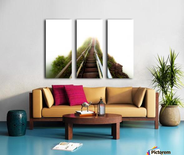 Stairway to Heaven Split Canvas print