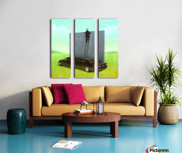 personal wall Split Canvas print