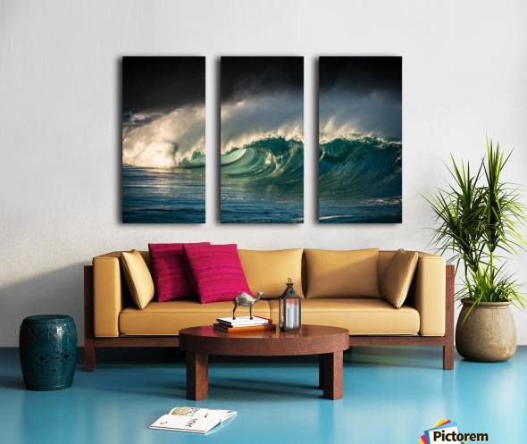 Waimea Split Canvas print