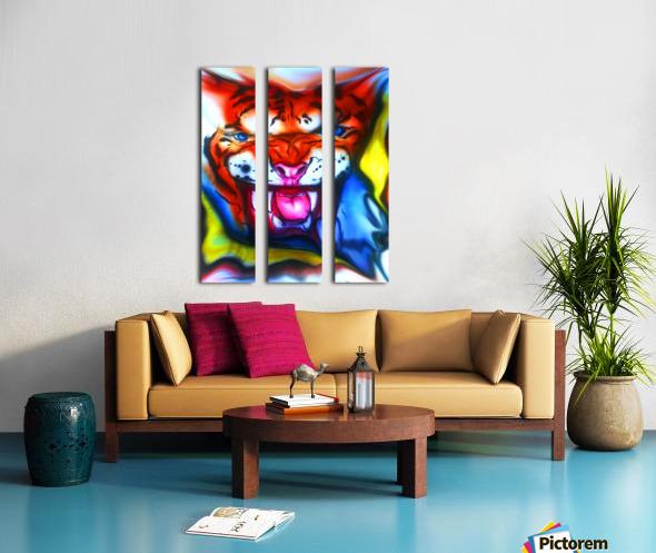 tiger1 Split Canvas print