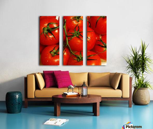 Tomatoes Split Canvas print