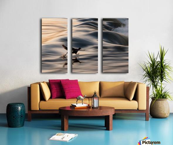 I Believe I Can Walk Split Canvas print