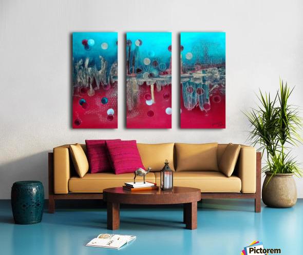 I feel the mood... Split Canvas print