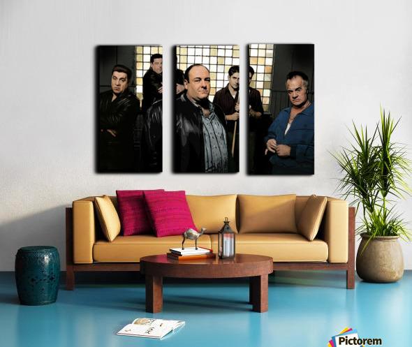 The Sopranos  Split Canvas print
