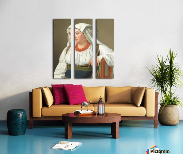 Una Ciociara Split Canvas print