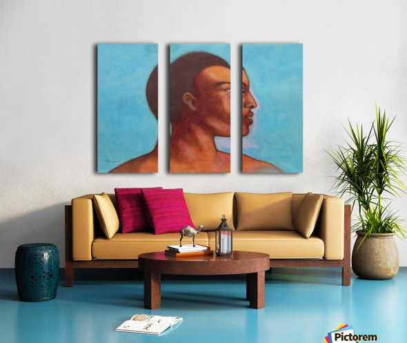 Khalid in Michelangelo mood Split Canvas print