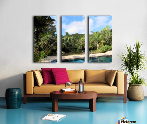 Nevis GR2 Split Canvas print