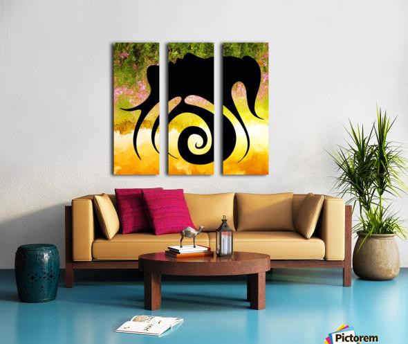 Miranillia - spring beauty Split Canvas print