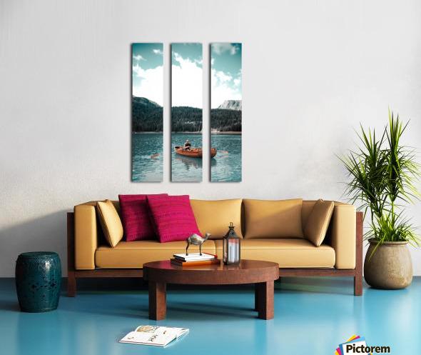 Lonely hour  Split Canvas print