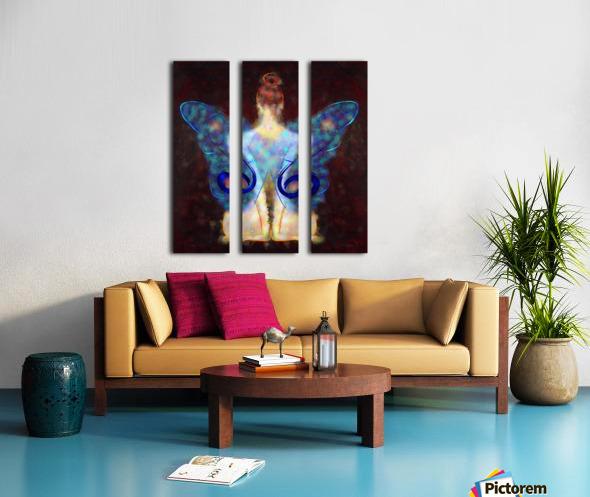 Elseminossa - butterfly beauty Split Canvas print
